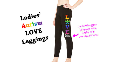 Autism Love Spectrum Leggings- Customized Your Way