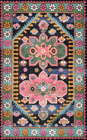 Transitional Floral Georgia Rug