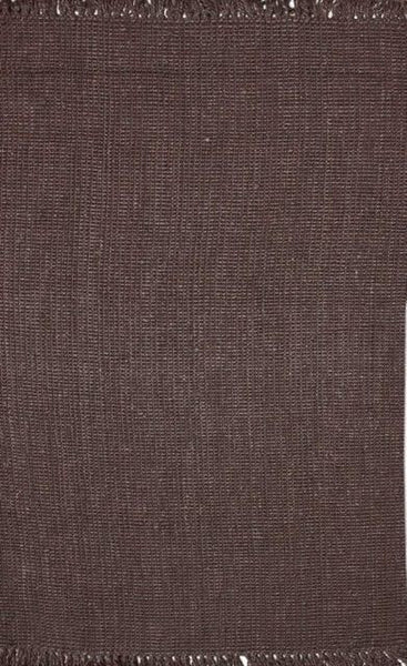 Bengal Chunky Loop Jute Rug in Chocolate Brown - Yarn and Loom Rugs