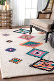 Navajo Tribal Rug in Multi-Colour - Yarn and Loom Rugs