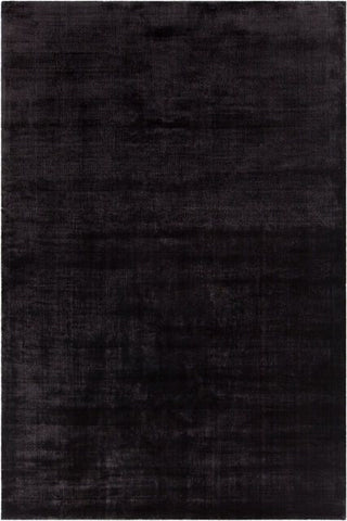Alta Rug in Black - Yarn and Loom Rugs