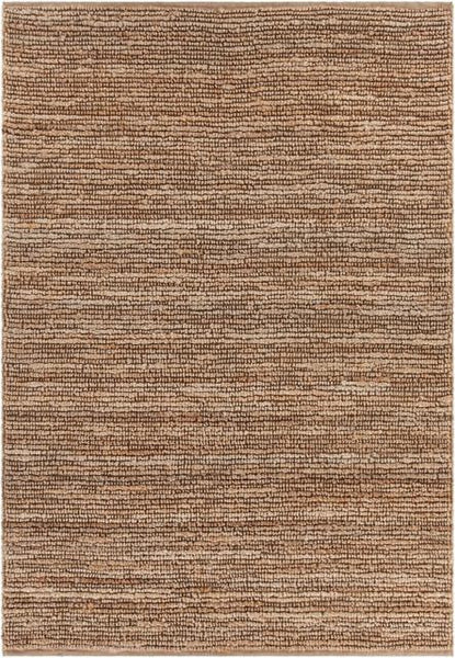 Kanpur Chunky Looped Jute Rug in Natural - Yarn and Loom Rugs