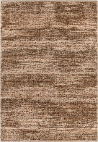 Kanpur Looped Jute Rug in Natural - Yarn and Loom Rugs