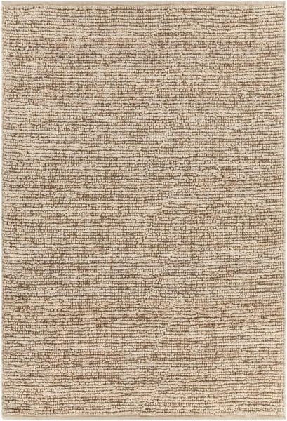 Kanpur Looped Jute Rug in Bleached - Yarn and Loom Rugs