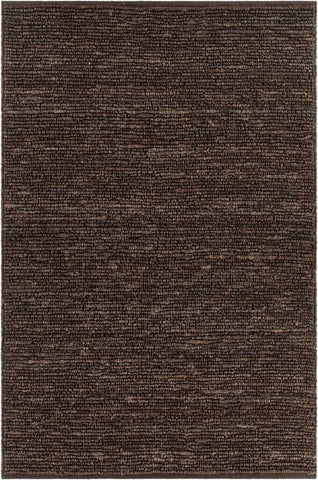 Kanpur Chunky Looped Jute Rug in Brown - Yarn and Loom Rugs