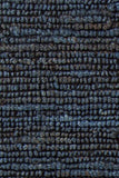 Kanpur Chunky Looped Jute Rug in Midnight Blue - Yarn and Loom Rugs