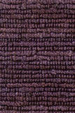 Kanpur Chunky Looped Jute Rug in Eggplant - Yarn and Loom Rugs