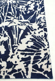 Agapanthus Rug in Navy Blue and White - Yarn and Loom Rugs