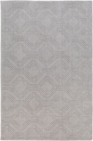 Ando Rug in Medium Grey - Yarn and Loom Rugs