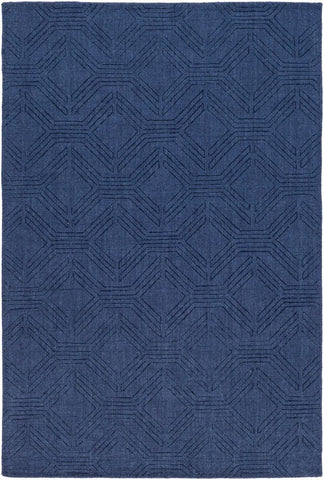 Ando Rug in Navy Blue