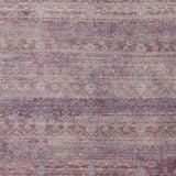 Ascot Hand Knotted Wool Rug in Bright Purple, Taupe and Aqua - Yarn and Loom Rugs