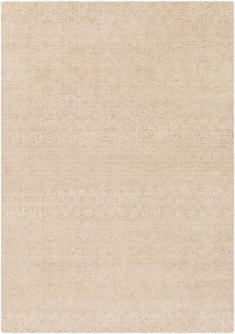 Cormo Rug in Cream and Beige - Yarn and Loom Rugs
