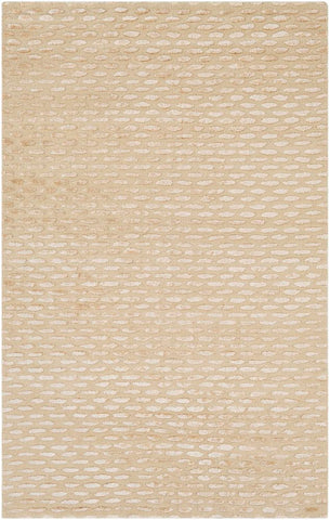 Desert Moon Rug in Cream and Beige - Yarn and Loom Rugs