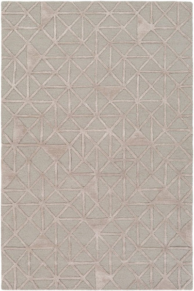 Etna Rug in Light Grey and Taupe - Yarn and Loom Rugs