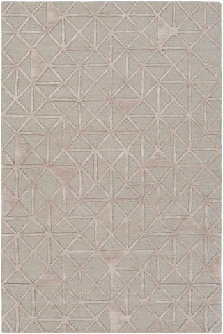 Etna Rug in Light Grey and Taupe