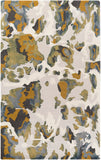Andaman Watercolour Rug in Gold - Yarn and Loom Rugs