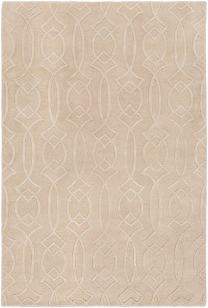 Georgia Trellis Rug in Cream - Yarn & Loom Rugs