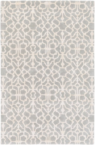 Marmont Rug in Grey and Cream - Yarn and Loom Rugs