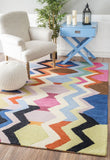 Mickey Geometric Rug in Multi-Colour