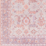 Milas Overdyed Rug in Purple, Blush and Grey - Yarn and Loom Rugs