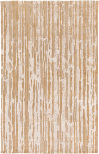 Paper Bark Rug in Tan and Beige