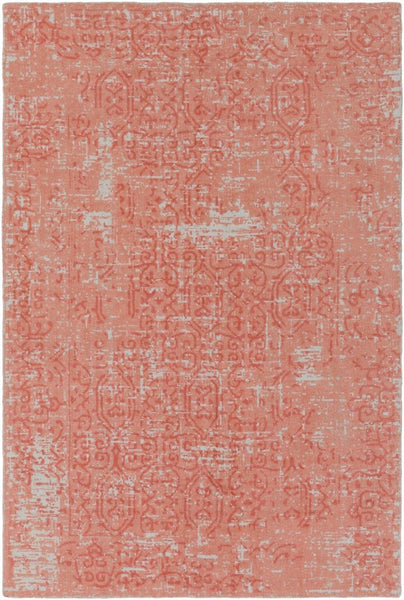 Interlace Rug in Pink Sand - Yarn and Loom Rugs
