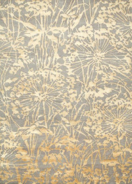 Agapanthus Rug in Ashwood and Honey Mustard - Yarn and Loom Rugs