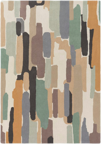 Trattino Rug in Sea Glass