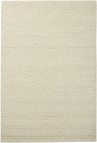 Colorado Textured Rug in Ivory - Yarn and Loom Rugs