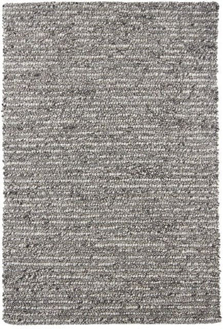 Colorado Textured Rug in Natural Grey - Yarn and Loom Rugs