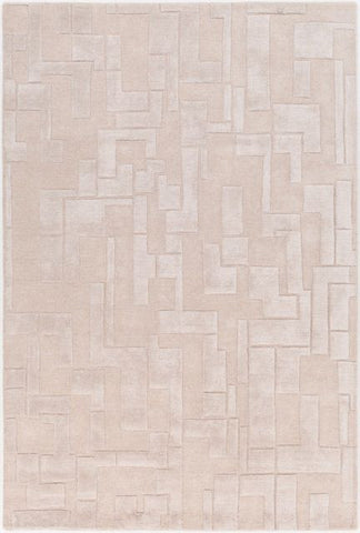 Atticus Rug in Pumice Stone - Yarn and Loom Rugs
