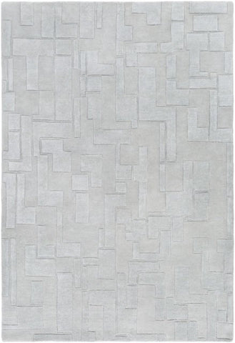 Atticus Rug in Pale Moss - Yarn and Loom Rugs