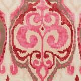 Ikat Rug in Hot Pink, Cherry and Beige - Yarn and Loom Rugs