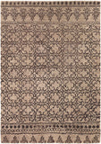 Berlow Rug in Coffee and Grey - Yarn and Loom Rugs