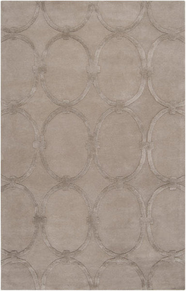 Eternity Rug in Taupe - Yarn and Loom Rugs