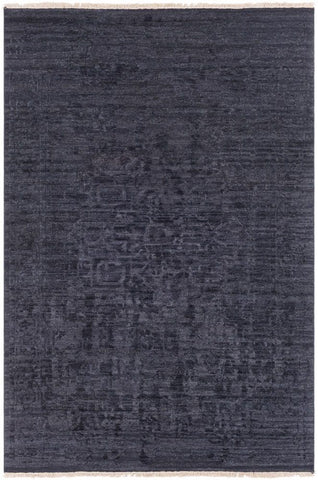 Bellevue Rug in Black - Yarn and Loom Rugs