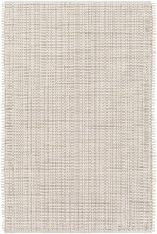 Silverton Rug in Ivory and Dark Brown - Yarn and Loom Rugs