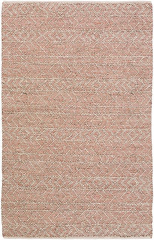 Orford Textured Rug in Taupe, Ivory and Burnt Orange