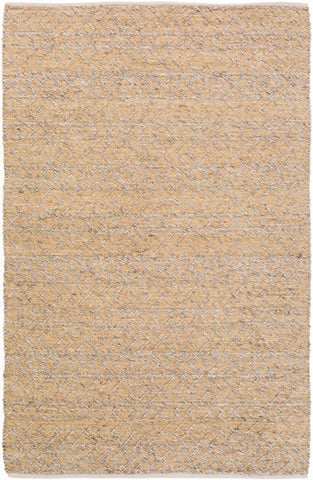 Orford Textured Rug in Taupe, Ivory and Honey Yellow