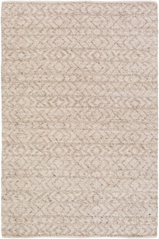 Orford Textured Rug in Taupe, Ivory and White