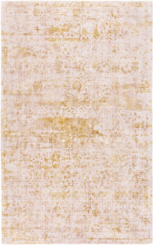 Bowral Rug in Mustard and Taupe