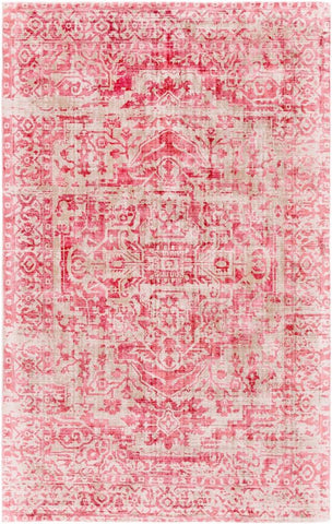 Bowral Rug in Rose and Taupe - Yarn and Loom Rugs