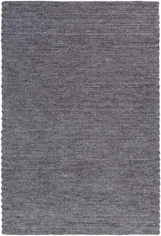 Bellinger Textured Rug in Dark Grey - Yarn and Loom Rugs