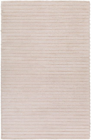 Bellinger Textured Rug in White - Yarn and Loom Rugs