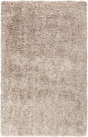 Siberian Shag Rug in Taupe