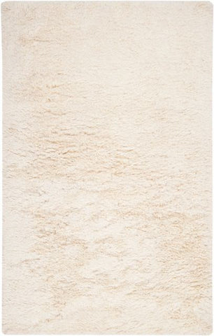 Siberian Shag Rug in White