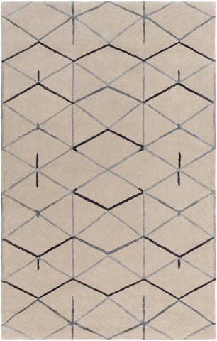 Constellation Rug in Grey - Yarn and Loom Rugs
