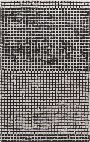 Rubic Rug in Black and White
