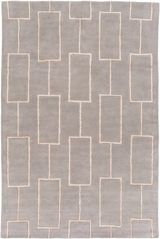 City Rug in Grey - Yarn and Loom Rugs