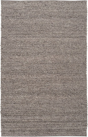 Cabin Textured Rug in Brindle Brown - Yarn and Loom Rugs